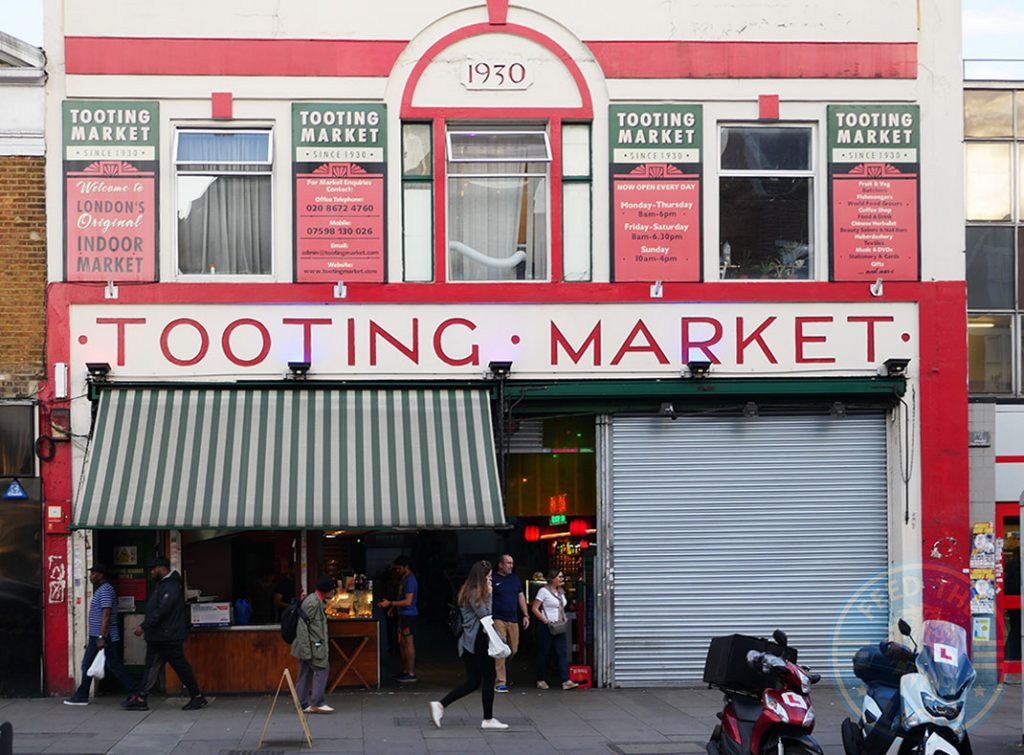 market tooting broadway Halal restaurants