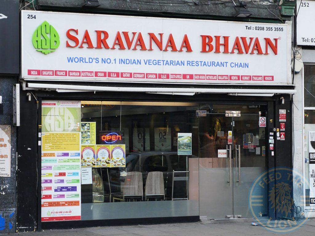 Saravanaa Bhavan Tooting Broadway Halal restaurants