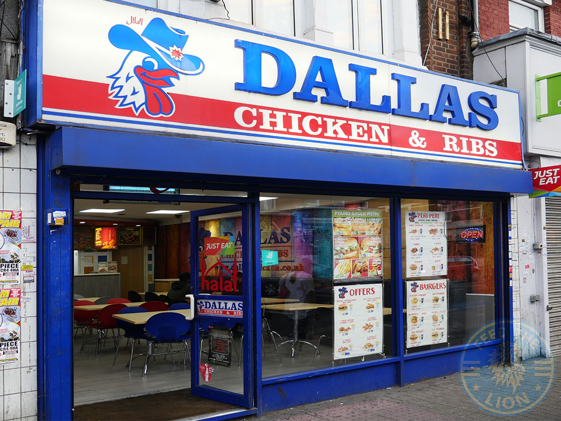 Dallas Chicken And Ribs Tooting Broadway Halal Restaurants