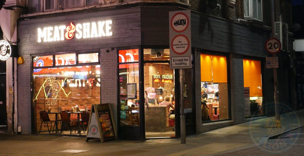 Meat and Shake Tooting Broadway Halal restaurants