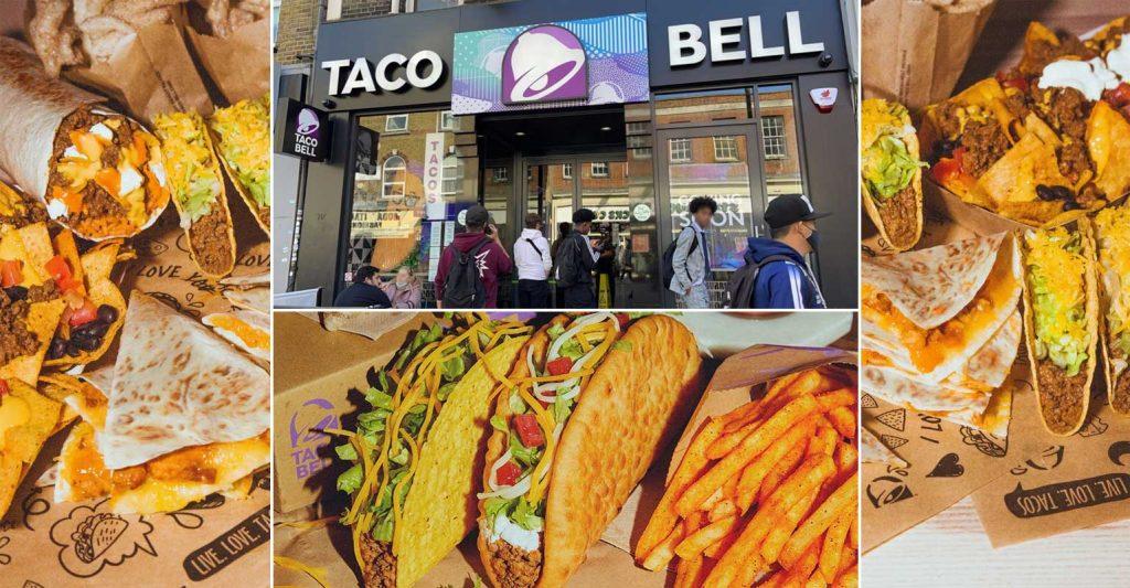 Taco Bell Halal Restaurant Hounslow London