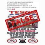 Tesco Halal Meat