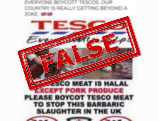 Tesco Halal Meat