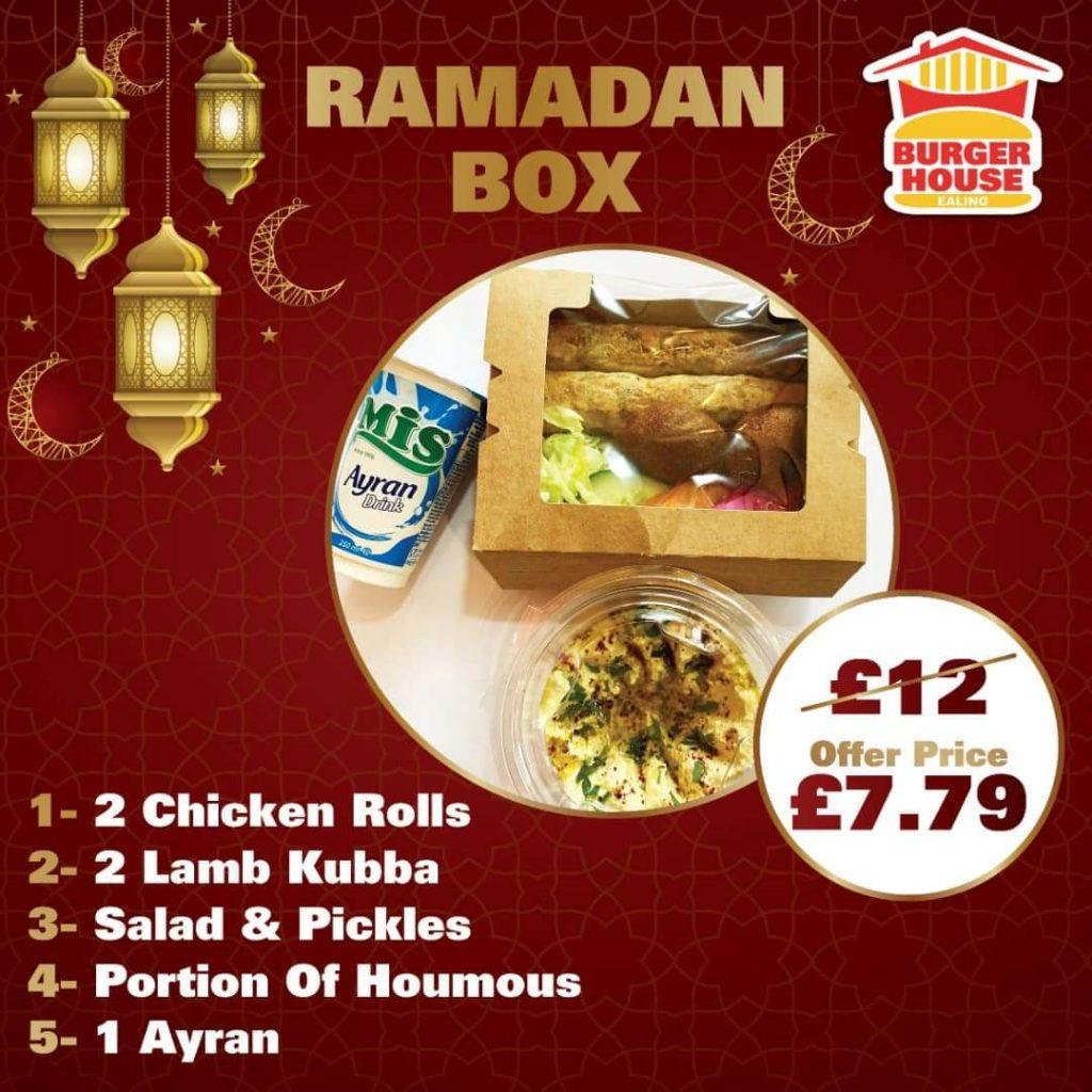 The Burger House Halal Ealing London