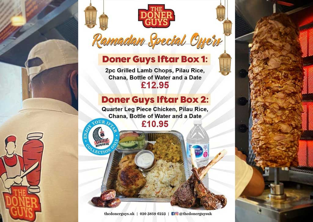 The Doner Guys London Halal Restaurant London