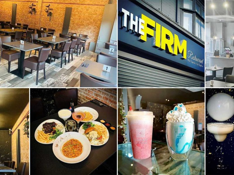 The Firm Halal Burgers Steaks Bubble Tea Restaurant Birmingham