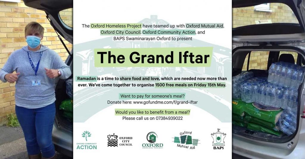 The Grand Iftar Oxford Homeless Project Ramadan
