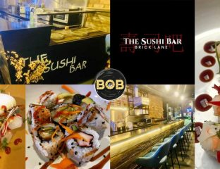 The Sushi Bar Halal Band Of Burgers Brick Lane London