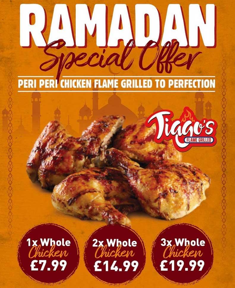 Tiagos Flame Grill Ramadan