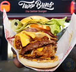 beast Two Buns Burger Halal HMC restaurant Ealing Broadway London burgers