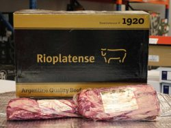 Argentine Sirloin Tom Hixson of Smithfield Online Butchers Halal Wagyu Beef Steaks Meat