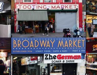 Tooting High Street London Market Broadway