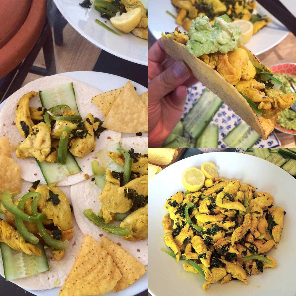 Turmeric Chciken Taco Recipe The Modern Pakistani Cookhouse