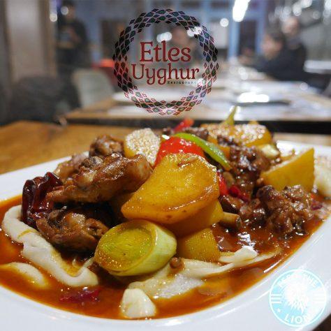 Etles Uyghur Halal restaurant Finchley Childs Hill, London