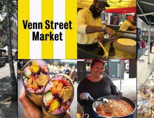 Venn Street Market Halal Street Food London Clapham Town