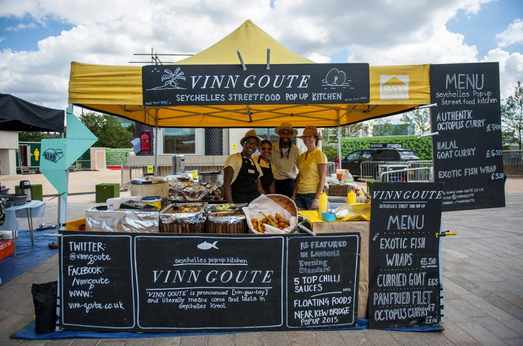 Vinn Goute Seychelles Halal Street Food