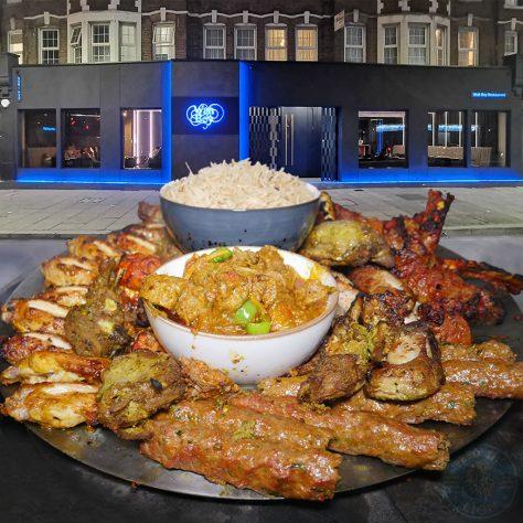 Wah Bey Halal Pakistani restaurant Gants Hill in Ilford