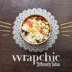 Wrapchic (Indian street food) Tower Hill, London