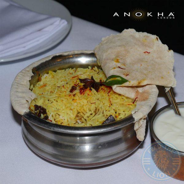 Anokha Indian Halal London restaurant