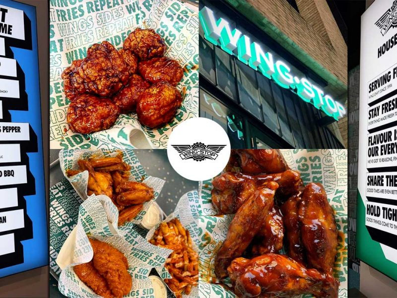 Wingstop Dalston London Restaurant