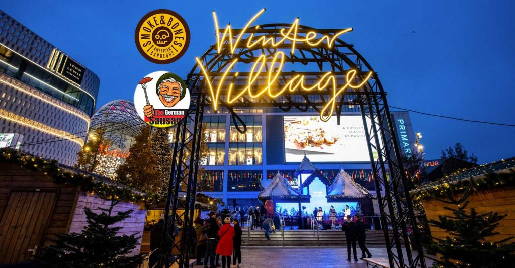 Winter Village Westfield London