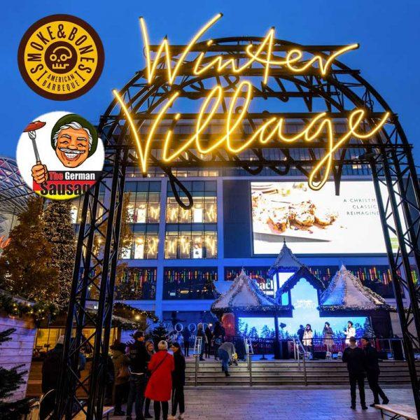Winter Village Westfield London