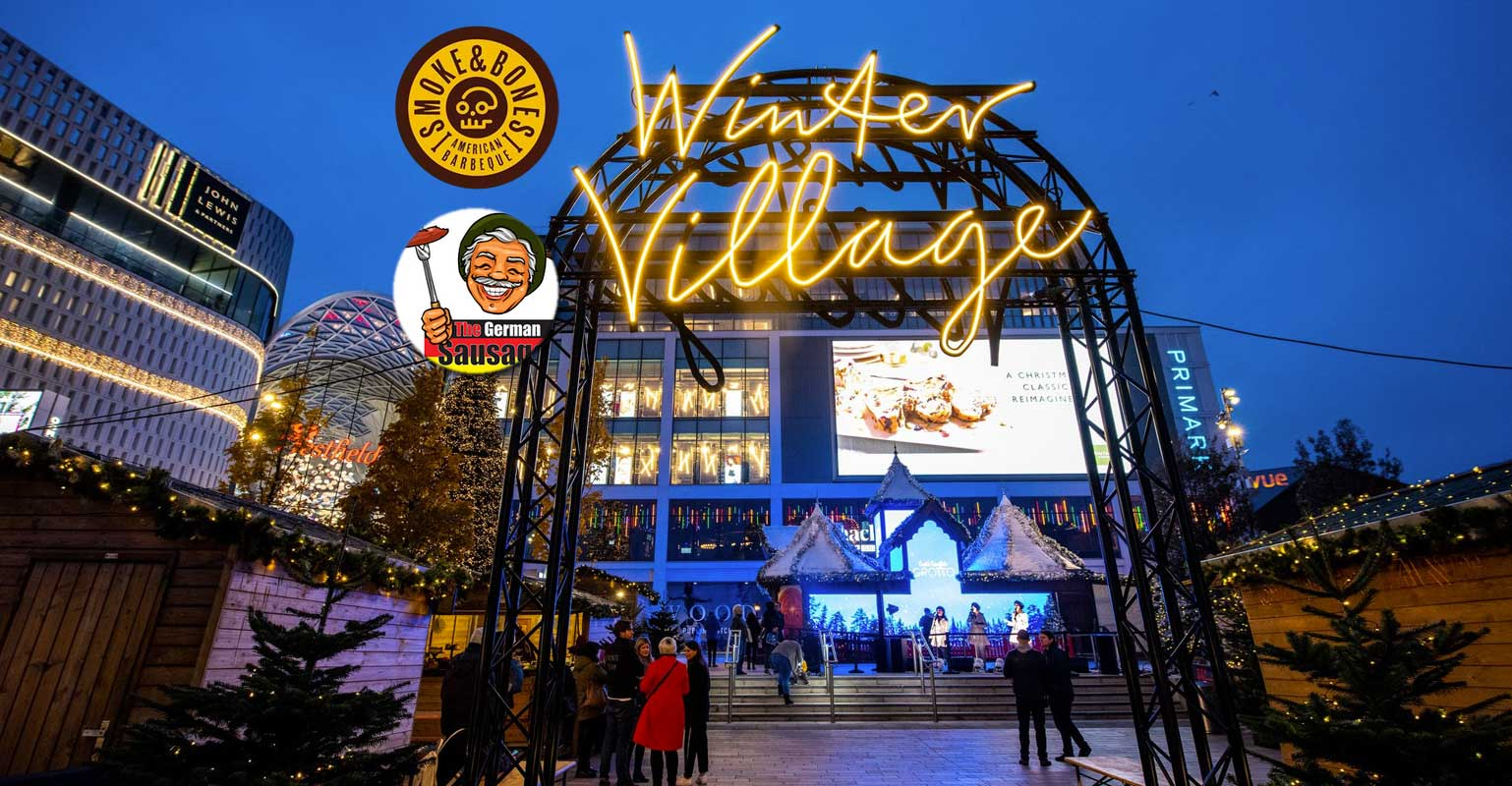 Halal At The Winter Village In Westfield London Feed The Lion