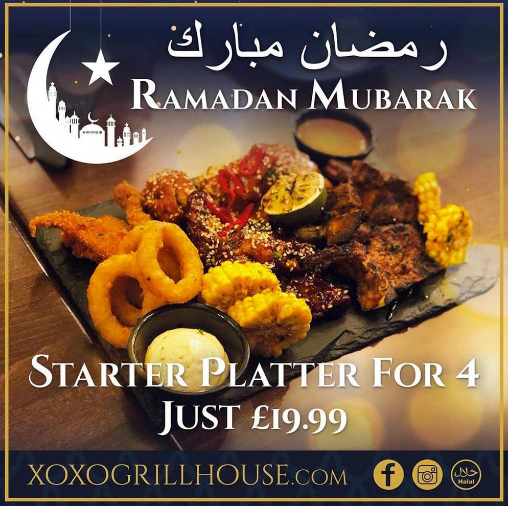 XOXO Grill House Huddersfield Iftar Ramadan
