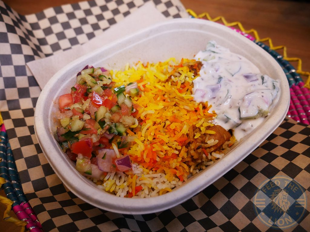 biryani Zaha Street Grill Halal restaurant Pakistani Holborn London