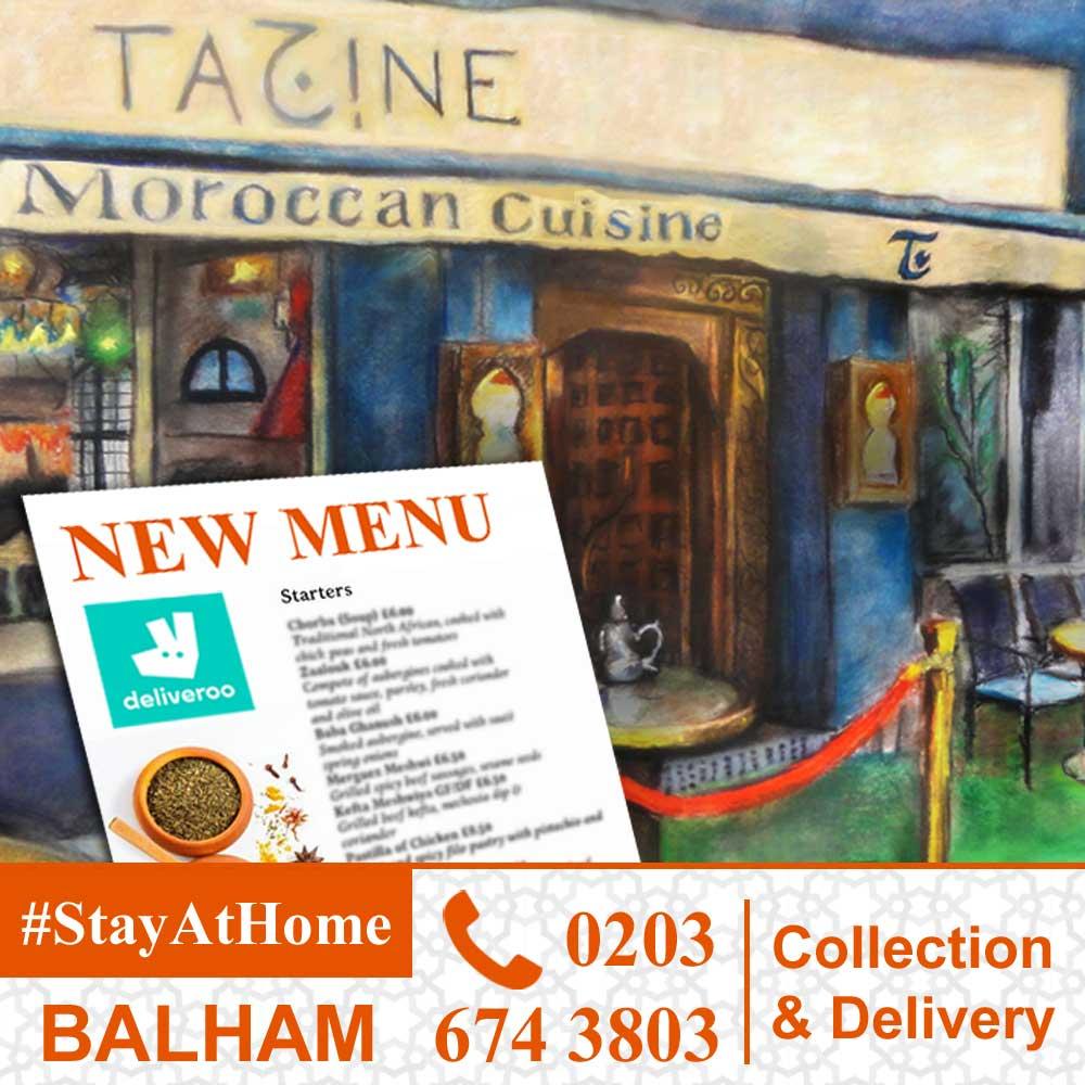 Zizou Tagine Balham London Delivery Takeaway